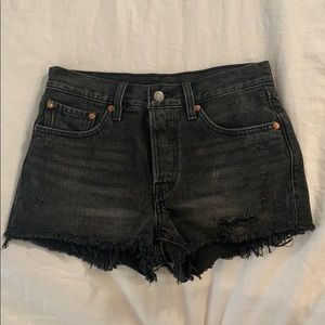 levi denim shorts (bought off of free people)
